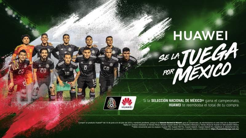 Huawei te regalará un smartphone si México gana la Copa Oro