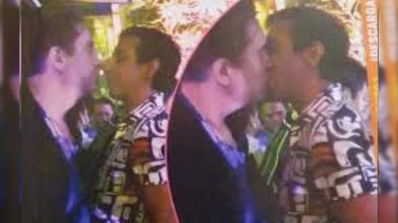Captan a Daniel Bisogno besándose con otro hombre