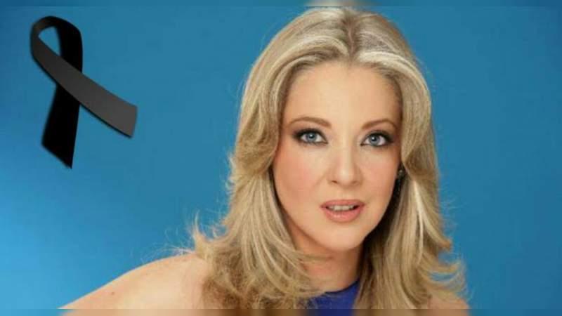 Confirman la muerte de la actriz Edith González
