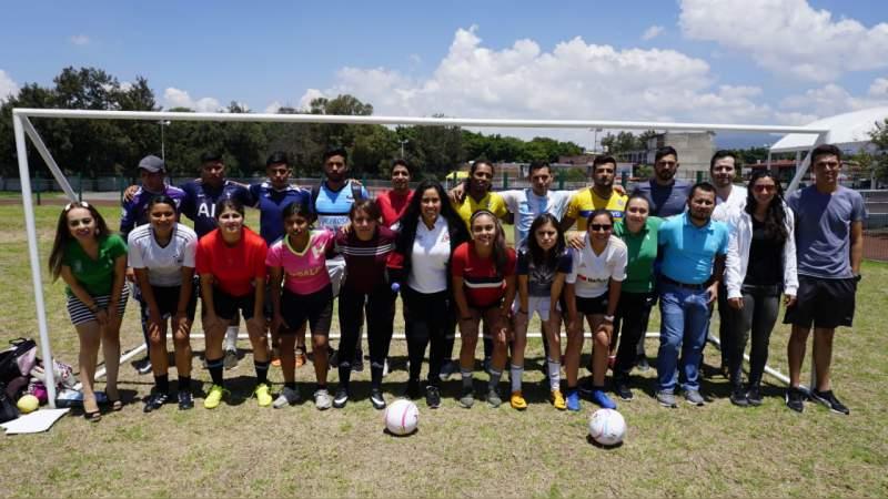 Inician concentración selecciones femenil y varonil de Street Soccer, rumbo al nacional