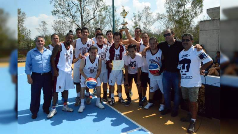 Final del Segundo Torneo de Basquetbol UNAM Campus Morelia