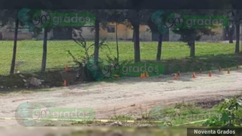 Maniatada y amarrada hallan sin vida a persona en Acámbaro, Guanajuato