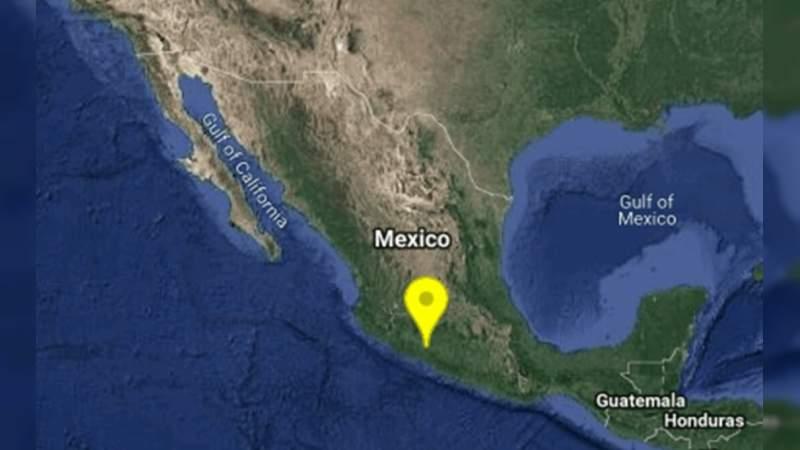 Sismo de 5.2 azota a Nueva Italia, Michoacán