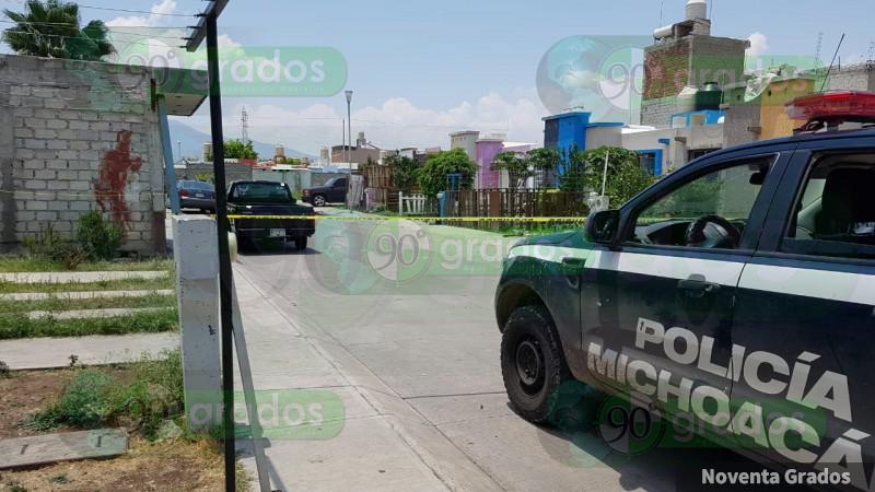 Ejecutan a balazos a persona en Zamora, Michoacán