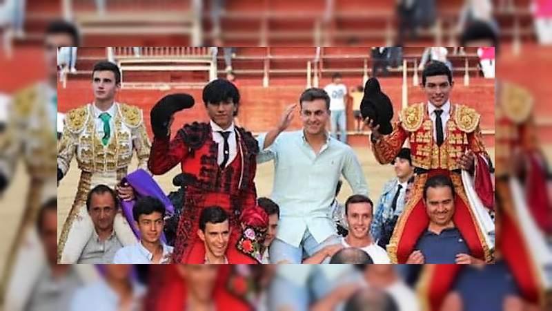 Siguen los triunfos del novillero moreliano Isaac Fonseca en España