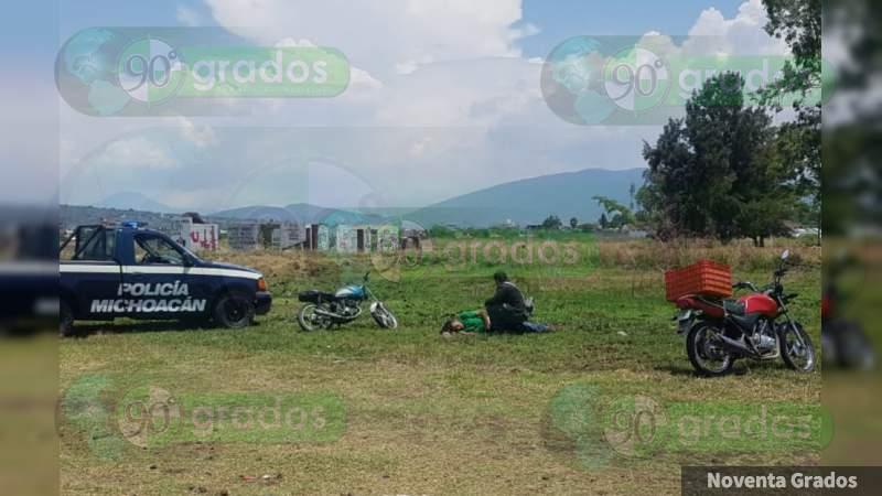 Atacan a balazos a un cuetero en Zamora, Michoacán