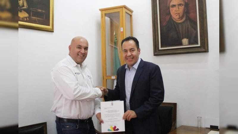 Nombran a Gerardo Torres jefe Regional del Gobierno del Estado en Zacapu