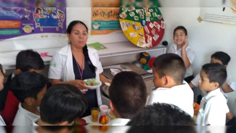 Fomenta SSM estilos de vida saludables en escuelas