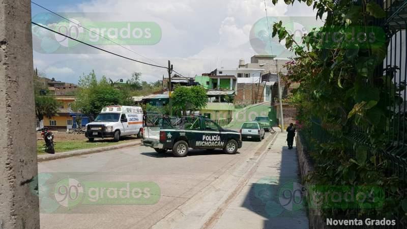 Joven es asesinado cuando iba a la tienda, en Zamora, Michoacán