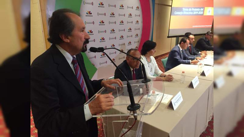 Presidencia del CEEM propone la creación de condiciones económicas favorables