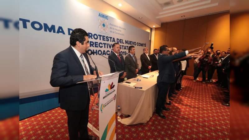 Gobierno de Michoacán y AMIC, en sinergia por el desarrollo y el bien común: SCOP