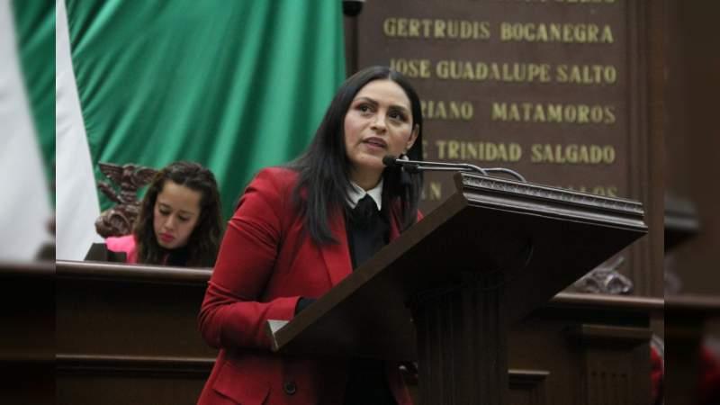 Por un proceso abierto y transparente, en selección del Auditor de Michoacán, se pronuncia Araceli Saucedo