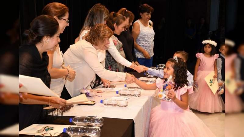 Inicia DIF Michoacán clausuras de los Centros de Atención Infantil