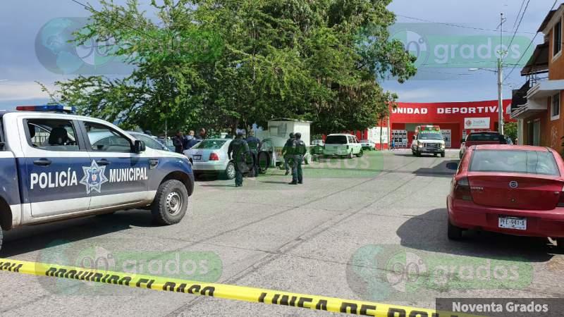 Muere un hombre, tras ser baleado en Zamora