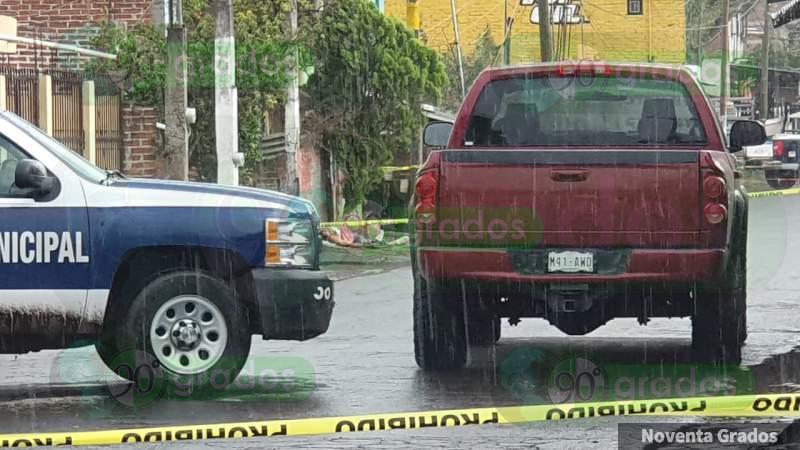 Ejecutan a balazos a un campesino en Zamora y el gobierno de Michoacán se preocupa más por callar a quienes hablan con la verdad