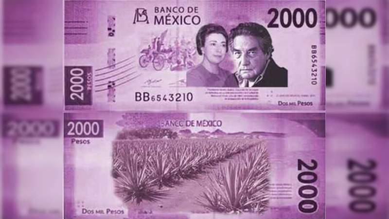 Hasta 2022 saldría el nuevo billete de dos mil pesos