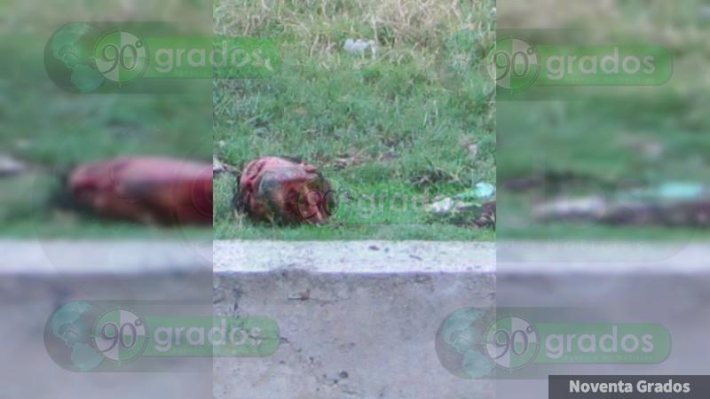 Continúan apareciendo decapitados en Michoacán, y el Gobernador dice que no pasa nada