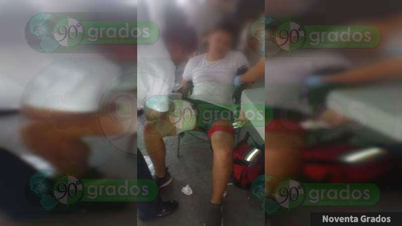 Agreden a dos jóvenes en Morelia, Michoacán, a uno le dieron un balazo