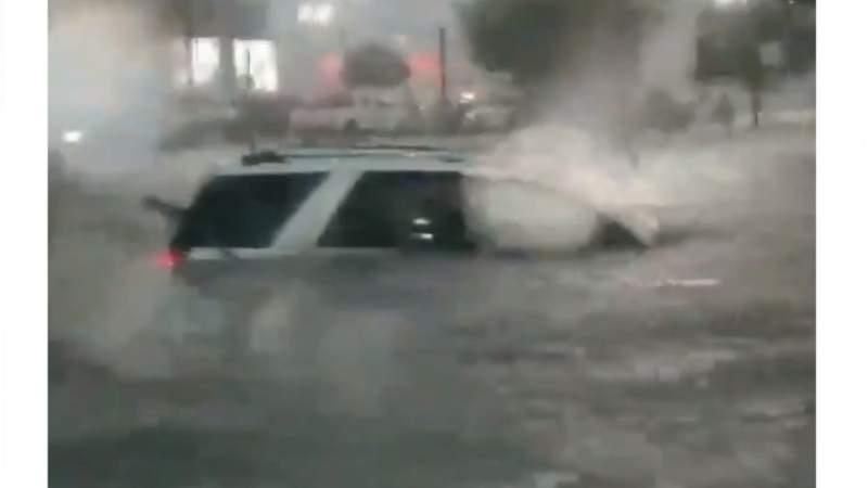 Fuertes lluvias dejan dos muertos en Reynosa