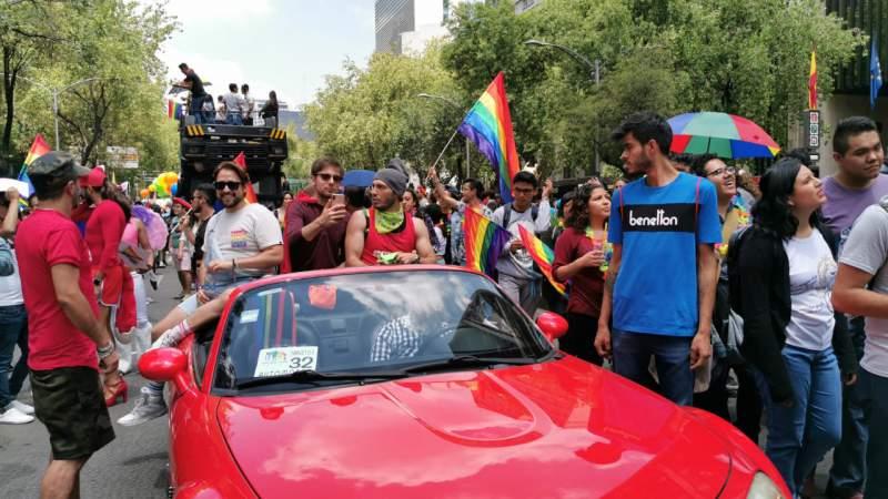 Celebran la 41 edición de la marcha por el Orgullo Gay en la CDMX