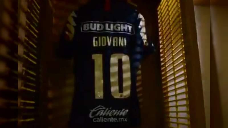 Filtran video de la llegada de Giovani dos Santos al América