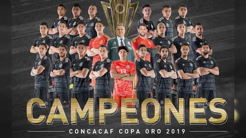 México se convierte en campeón de la Copa Oro