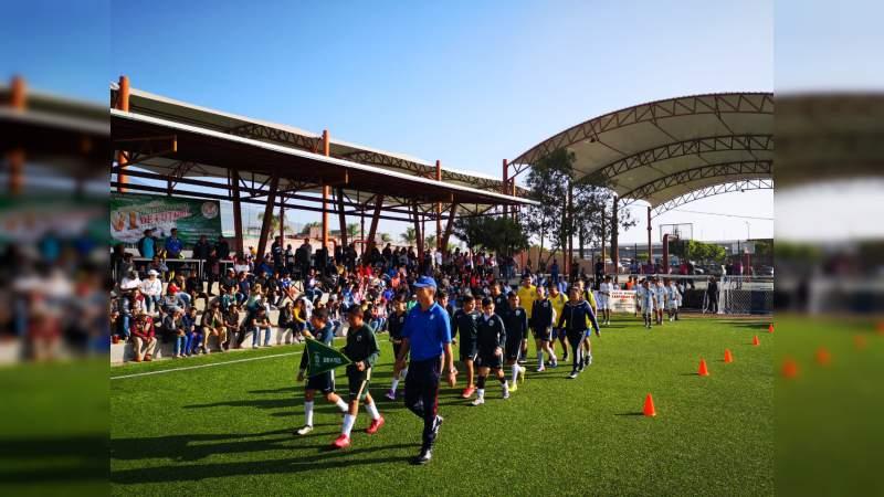 Arranca el VI Torneo Estatal de Futbol de Verano 2019, organizado por el Movimiento Antorchista.