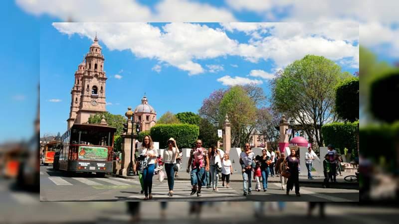Alentadoras cifras de turismo en Michoacán, durante 2019 se recibieron nueve millones de visitantes: SAC