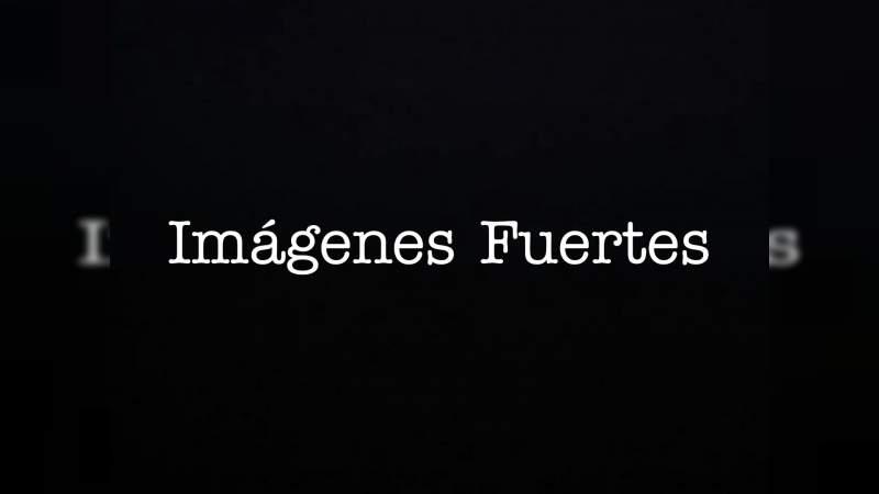 Tiran dos cadáveres junto a un mensaje en Tejupilco, Estado de México