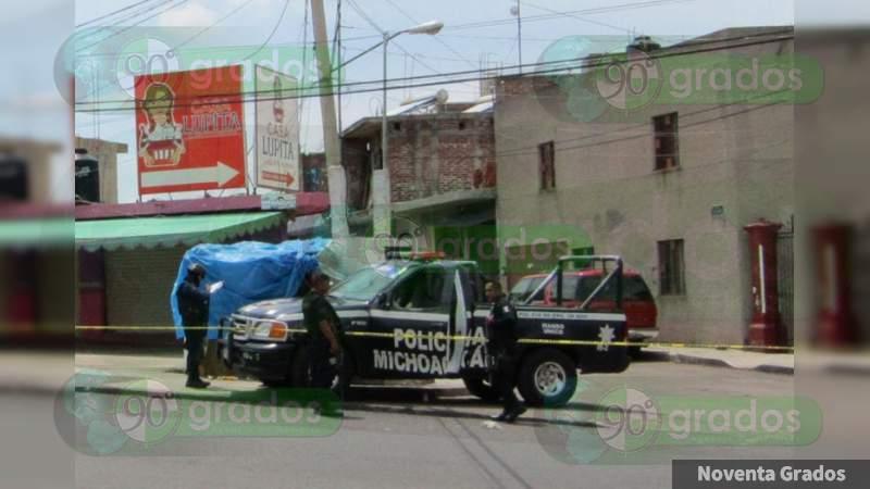 Vendedor de elotes es ejecutado en su negocio en Jacona, Michoacán