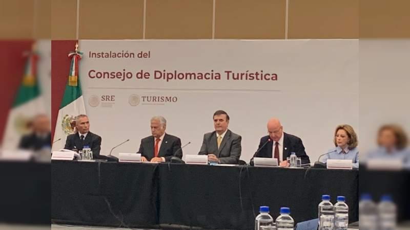 Michoacán, presente en la Instalación del Consejo de Diplomacia Turística