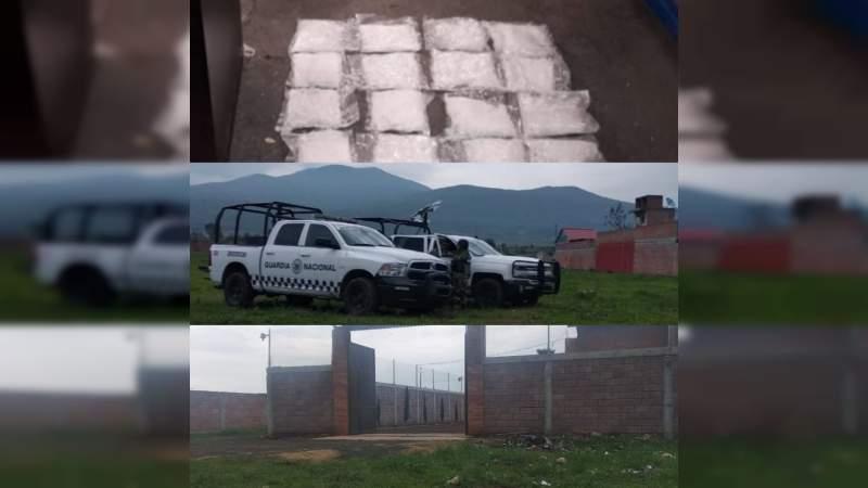 La GN da duro golpe a la delincuencia aseguran 70 kilos de crystal en Morelia, Michoacán