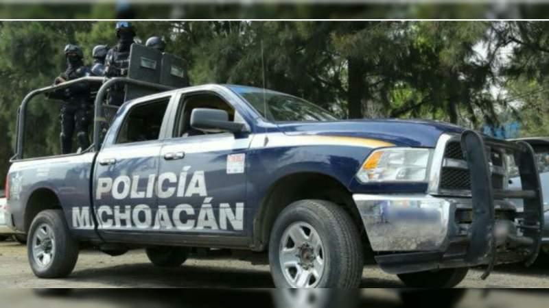 Lesionan con arma de fuego a un hombre en Jacona