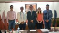Se reúnen Rector de la UMSNH y Secretario del Migrante del Gobierno de Michoacán