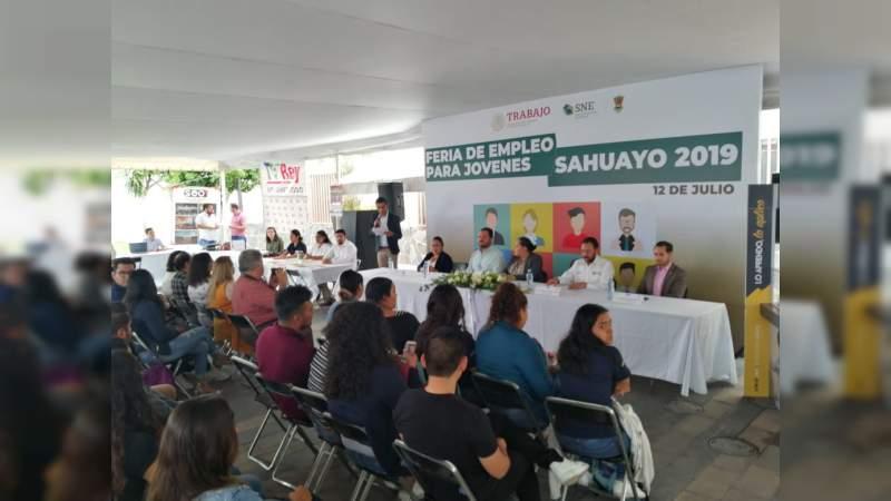 Oferta 550 vacantes en la Feria del Empleo para Jóvenes, Sahuayo 2019