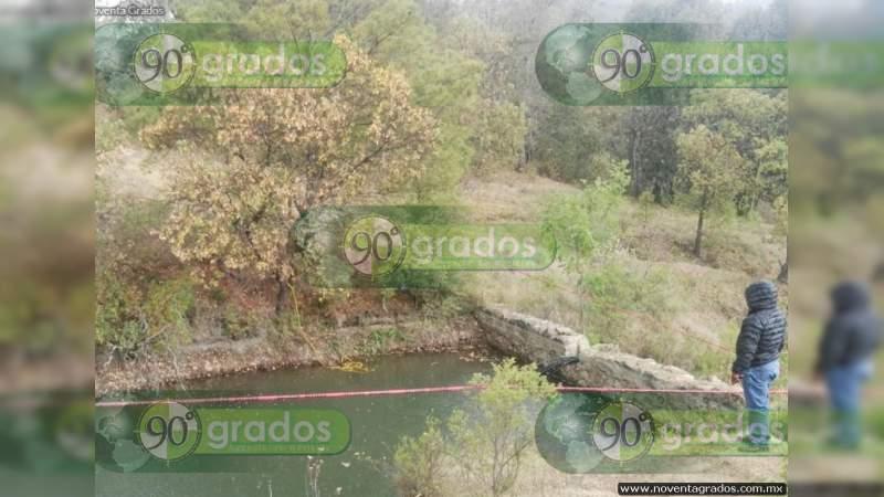 Localizan un sexto cadáver dentro de río en Celaya, Guanajuato
