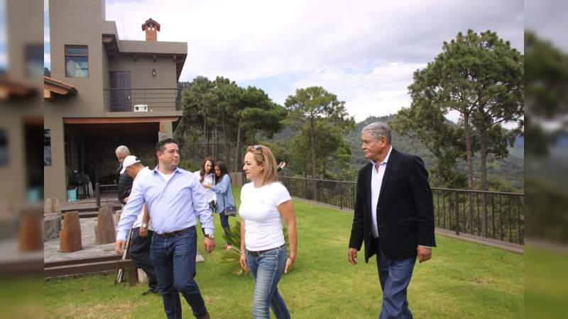 Trabaja Sectur Michoacán para posicionar atractivos turísticos de los municipios