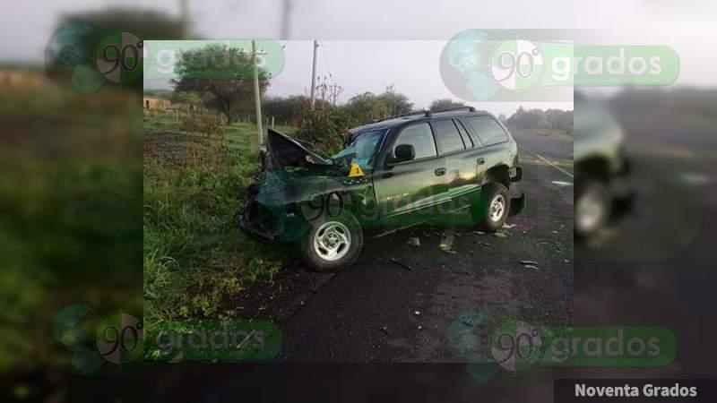 Fatal accidente en la carretera Salvatierra-Acámbaro deja una mujer muerta