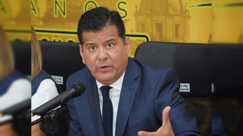 PRD, oposición seria y responsable, no sumisa: Juan Bernardo Corona