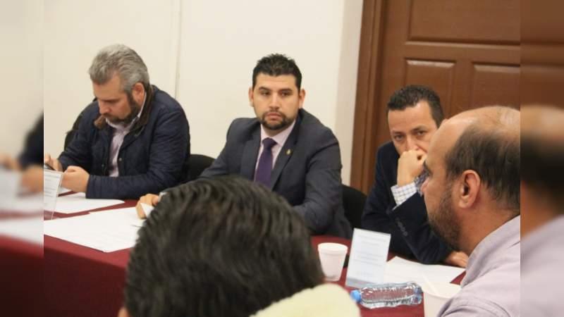 Prioridad sacar rezago Legislativo para comisión de Régimen Interno y Prácticas Parlamentarias: Octavio Ocampo
