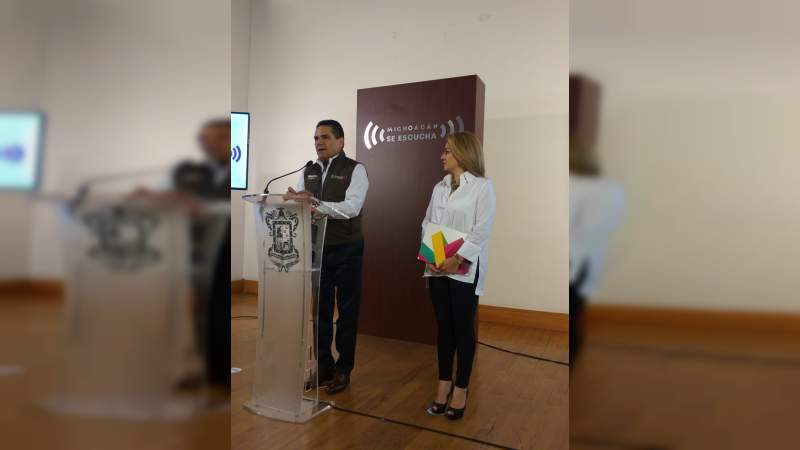 Avanza el estado de Michoacán en indicaciones presidenciales en temas en salud y educación: Silvano Aureoles
