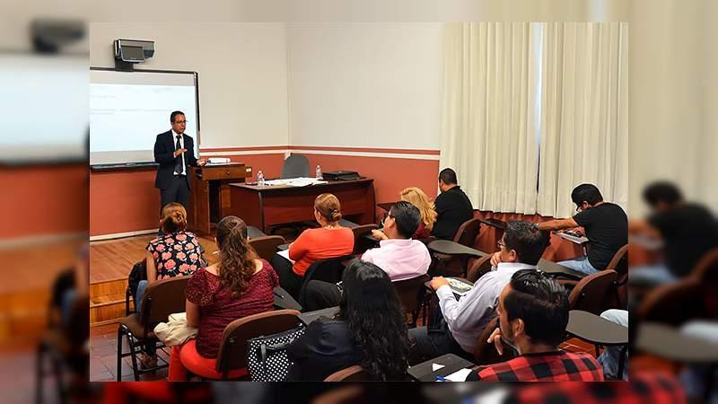 Facilitadores del Poder Judicial de Michoacán reciben 60 horas de capacitación sobre justicia integral para adolescentes