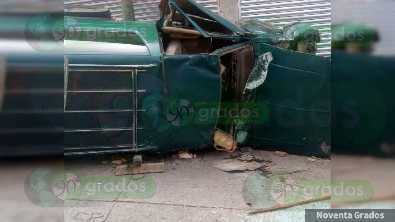 Seis heridos en volcadura sobre la Acapulco - Zihuatanejo, en  Guerrero