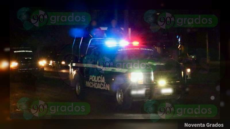 Agreden a balazos a director de la Policía en Salvador Escalante, Michoacán