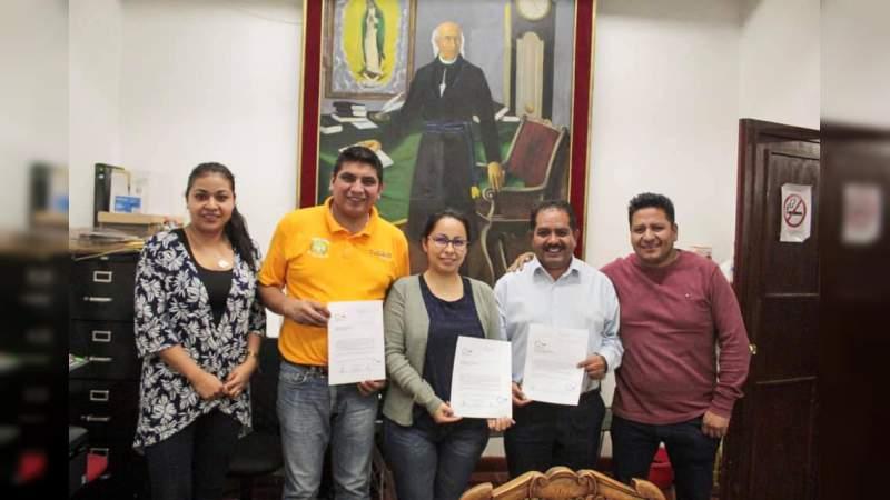 Tingambato pionero del proyecto México Cruzando Fronteras