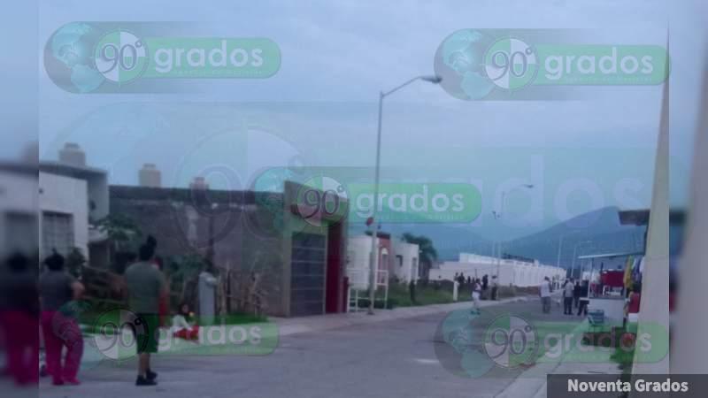 Disparan desde auto contra vivienda en Zamora, Michoacán