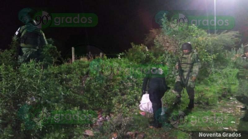 Aseguran marihuana en Morelia, Michoacán