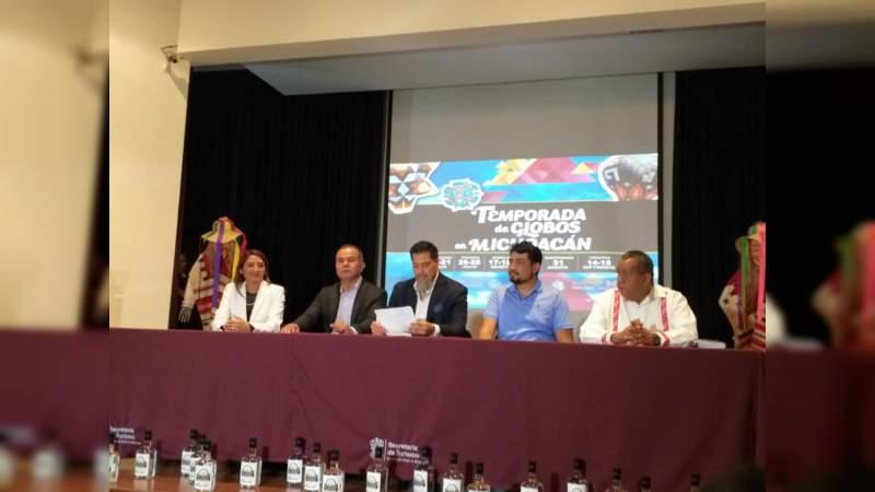 Del 19 de julio al 15 de septiembre en seis municipios, la Temporada de Globos en Michoacán