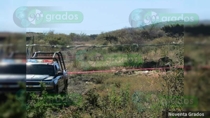 Localizan a persona ejecutada en Jacona, Michoacán