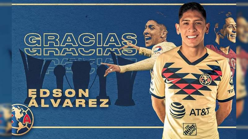 ¡Oficial! Edson Álvarez se convierte en jugador del Ajax de Holanda